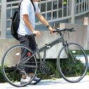 折りたたみ 自転車 700c FIELD CHAMP シマノ製7段変速 クロスバイク 折りたたみ自転車 ガンメタ X0111 0228