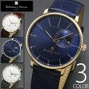 5気圧防水 腕時計 メンズ 1年保証 全4色 正規 Salvatore Marra サルバトーレ マーラ スモールセコンド 腕時計 BOX 保証書付 10P03Dec16