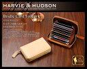 本革 カード入れ メンズイギリスの老舗テーラー Harvie&Hudson ハービーアンドハドソン ブライドル カードケース カード入れ メンズ 1..