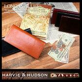 長財布 本革 メンズ レディース イギリスの老舗テーラー Harvie&Hudson ハービーアンドハドソン YANKEE社 タンニンレザー 長財布 メンズ LT-GS 11SP P20Aug16