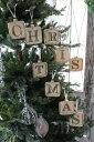 【7%引き&P10倍中】 クリスマスオーナメント♪ (グラスX'masレターオーナメントセット) クリスマスツリー シャビーシック 北欧 フレンチ ロマンティッ...