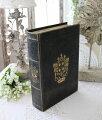 スタイルロココ アンティークスタイルのブック型ボックス(Lサイズ) 小物入れ オブジェ フレンチカントリー アンティーク 雑貨 輸入雑貨 antique shabby chic