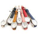 丸型腕時計 ウォッチ レディース 日本製ムーブメント メイド...