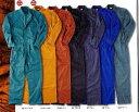 つなぎ 長袖 オールシーズン ツナギ 大きいサイズ 全7色の激安つなぎ服 ポリエステル65% 綿35% カラーバリエーション