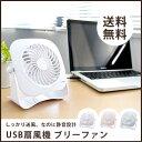 USB 卓上扇風機 ファン 小型 ミニ扇風機 360° 回転...