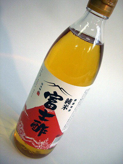 Junmai Fuji vinegar 900 ml * domestic producing organic rice used