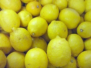 Organic Lemon, shichiro Grandpa 5 kg * size mixture * skin color is still blue if you must.
