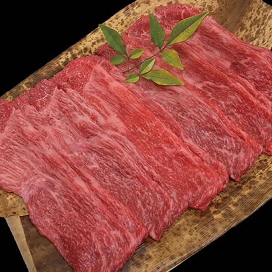 黒毛和牛 神戸ワインビーフ モモ・肩すき焼き 200g