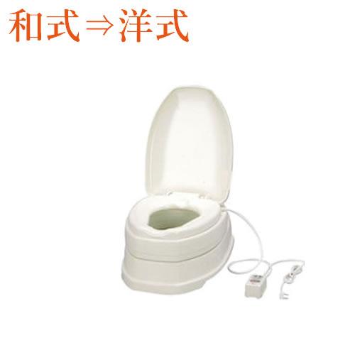 安寿サニタリエースOD両用式[暖房便座タイプ][簡易設置洋式トイレ](介護用品介護福祉用具トイレ簡易
