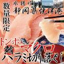 静岡県焼津港で水揚げされた本場のマグロ!!【訳あり】トンボマグロハラミ切り落とし500g<冷凍商品> 鮪 刺身