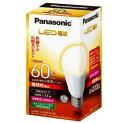 LDA8LGK60ESW パナソニック LDA8L-G/K60E/S/W 広配光タイプ LED電球60形 [E26口金][LED電球色] あす楽対応