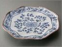 作家 加藤雲泉さんの小皿(プレート)。シンプルな染付の少し大きめの