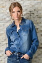 ショッピングレンジ INDIMARK カットデニムシャツ ブルー WT013-4
