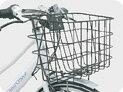 ブリヂストン マリポーサ用小型縦バスケット+専用バスケットステーセット【自転車と同時購入で工賃無料】