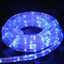 LE026 LED rope tube lights (Blue 10 m) ■ Christmas and party decorations ◆ LED
