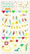 ショッピング手帳 【スケジュールポップシール】でかわいいオリジナル手帳を作ろう!マス目に人や動物をぶら下げて、サーカスみたいにデコレーション♪(SPS-11):サーカス