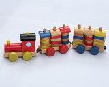 木のおもちゃカラフル機関車(うごかす)【RCP】【楽ギフ包装選択】【楽ギフのし】【楽ギフメッセ】【楽ギフ名入れ】