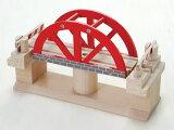 木のおもちゃ回転橋(木製汽車レール)【楽ギフ包装選択】【RCP】