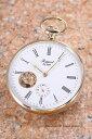ラポート 懐中時計 RAPPORT (ポケットウォッチ) メカニカル GP/ホワイト(ローマン) PW86【ラポート 時計】