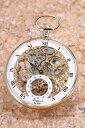 ラポート 懐中時計 RAPPORT (ポケットウォッチ) メカニカル GP/ゴールドスケルトン PW88【ラポート 時計】【あす楽】