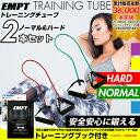 トレーニングチューブ 2本セット ( ノーマル ハード ) | お得なセット2本 / フィットネスチ...