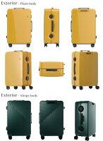 スーツケースの外装