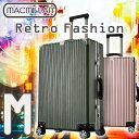 【1,000円OFFクーポンあり】 スーツケース M サイズ アルミフレーム 高級PC100% 中型 軽量 フレームタイプ Wキャスター 計8輪 TSA ダイヤル式 キャリーケース トランク キャリーバッグ ハード フレーム 国内 海外 旅行用 送料無料 あす楽対応