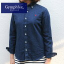 GymphlexLady's denim BD L/S shirt (J0872KFD) 10%OFF!!