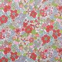リバティプリント 生地 Flower Tops フラワー・トップス 3637188-17B 【×50cm】