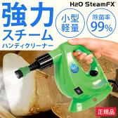 【正規品】H2OスチームFX 8点デラックスセット【h2o/fx/スチームクリーナー/スチームモップ/ハンディスチーマー/ドライスチーム/掃除/汚れ/洗浄/軽量】