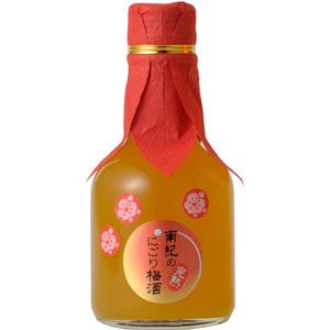 和歌のめぐみ 「南紀の完熟にごり梅酒」 180m...の商品画像
