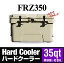 『クーラーボックス』 ハードクーラー FRZ350 35qt...