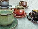 小石原焼 選べる5色のコーヒー碗皿