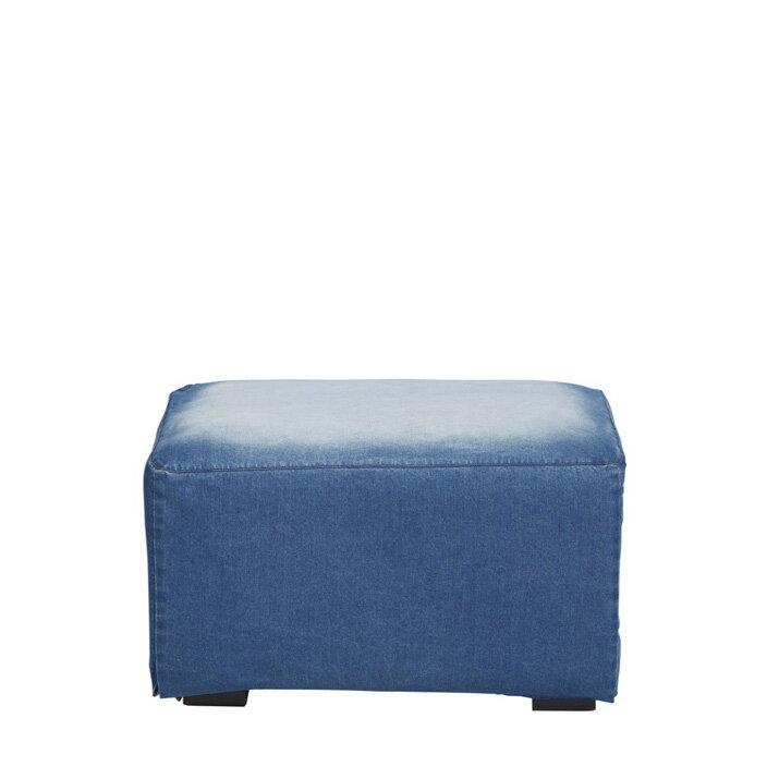 ジャーナルスタンダードファニチャー(journal standard Furniture) FRANKLIN OTTOMAN DENIM(フランクリンオットマン デニム)