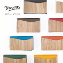 ショッピング日本製 VARCO REAL WOOD デザインカードケース 名刺入れ メンズ レディース 革 本革 ヌメ革 革製 レザー 木 木製 天然木 日本製 和柄 革小物 女性用 ブランド かわいい シンプル ビジネス おしゃれ ヴァーコ