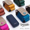 ショッピングアイコス ケース VARCO REAL WOOD アイコスケース iqos iqosケース 収納 木製 革 本革 革製 ヌメ革 レザー 日本製 木製 天然木 メンズ レディース コンパクト スマート 機能的 シンプル ギフト 大人 かわいい ブランド 送料無料