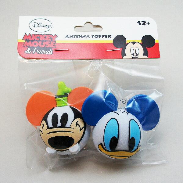 ディズニーアンテナボール【Goofy Face and Donald Face 2種セット…...:w5thst:10003682