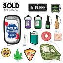メール便送料無料!【SOLD Air Freshener】SOLD Intl. エアフレッシュナー/芳香剤/カーフレッシュナー/缶ビール/420 /$100/ド...