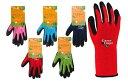 川西工業【KAWANISHI】作業手袋/ゴム手袋 2533 Green Finger フィットグローブ S・M