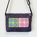 モン族 手刺繍ポシェット モン族(ミャオ族)ショルダーバッグ