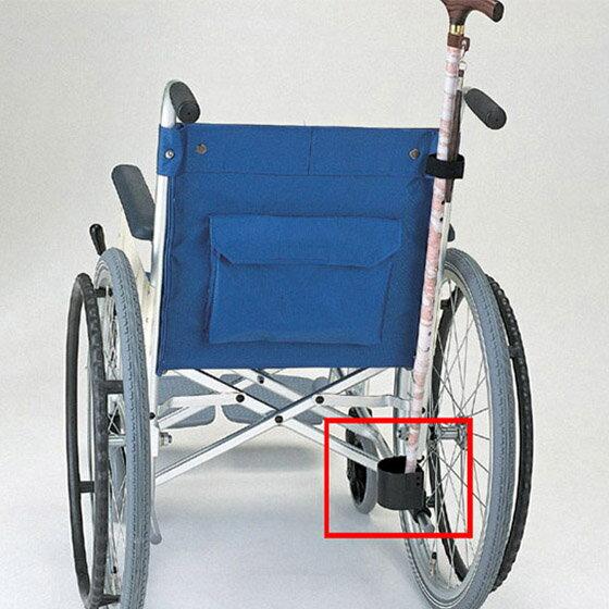 車椅子用オプション杖入れ杖携帯簡単取付使いやすいMIKI杖入れ1本用MS-132便利杖ホルダー便利グ