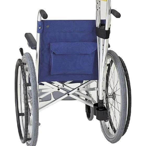車椅子用オプション杖入れ杖携帯松葉杖松葉杖入れ杖ホルダーMIKIミキ松葉杖入れ2本用MS-133便利