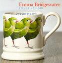エマブリッジウォーター Emma Bridgewater マグカップ 英国製 グリーン フィンチ 小