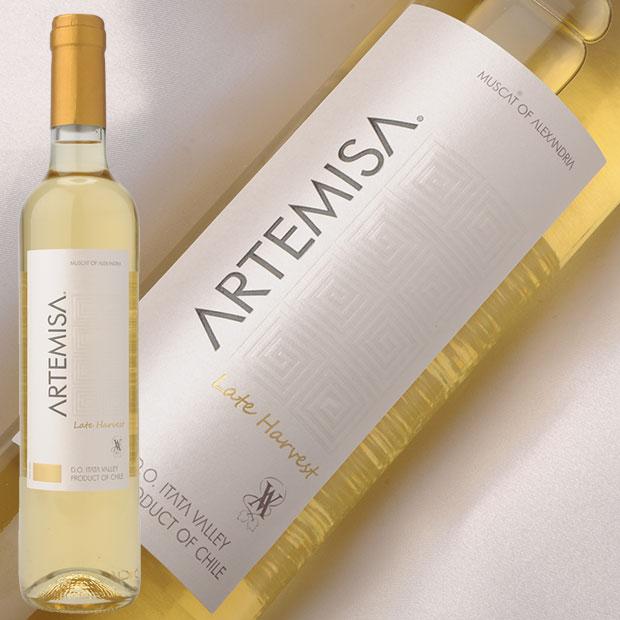 白ワイン アロモ アルテミザ レイトハーヴェスト 500ml チリ マウレ ヴァレー 白 中甘口 AROMO ARTEMISA LATE HARVEST ワイン /白 ワイン WINE 葡萄酒