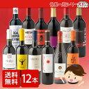 [ワイン12本セット]ぐるっと世界一周編赤ワイン12本セット