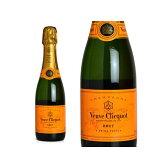 ヴーヴ クリコ イエローラベル ポンサルダン ブリュット 白 泡 N.V 箱なし ハーフ 375ml シャンパン シャンパーニュ (ヴーヴ・クリコ) (ヴーヴクリコ) (ブーブクリコ)Champagne Veuve Clicquot YELLOW LABEL Half Size AOC Champagne