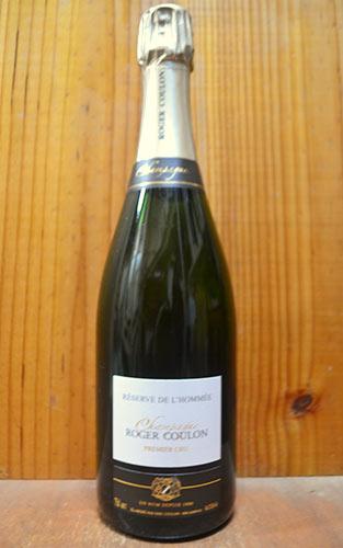 ロジェ クーロン シャンパーニュ レゼルヴ ド ロメ プルミエ クリュ クーロン エリック&イザベル 泡 白 750ml シャンパン ロジェクーロンギフト 贈り物 お祝い
