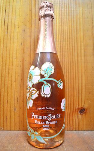 """ペリエ・ジュエ・シャンパーニュ""""ベル・エポック""""ロゼ・ブリュット・ミレジメ[2006]年・正規代理店輸入品Champagne PERRIE JOUET Belle Epoque Brut Rose Millesime [2006] Gift Box"""