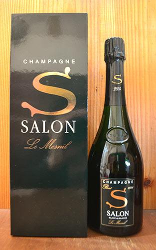 【6本ご購入で専用木箱でお届け】サロン シャンパーニュ ブラン ド ブラン ミレジム 2004 正規 箱付 白 泡 シャンパン 750ml