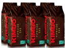 KIMBO(キンボ)・エスプレッソ豆・プレミアム・1kg(1000g)×6袋